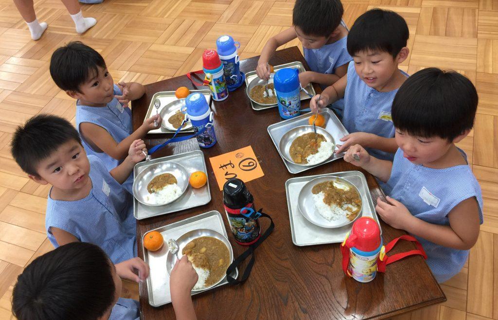 成田幼稚園の夏